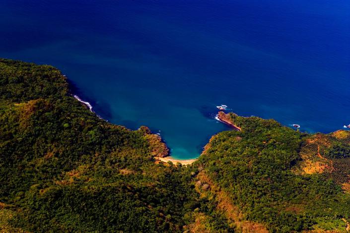 Las Cuevitas Beach - Aerial view 1