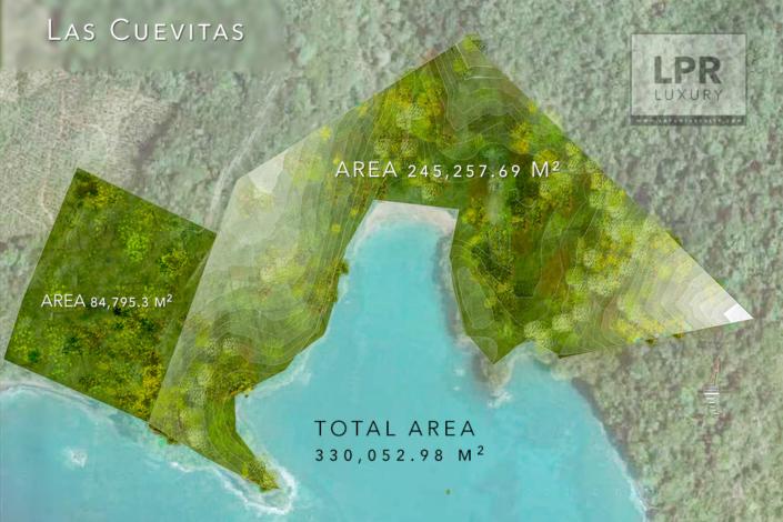 Las Cuevitas - Dimensions
