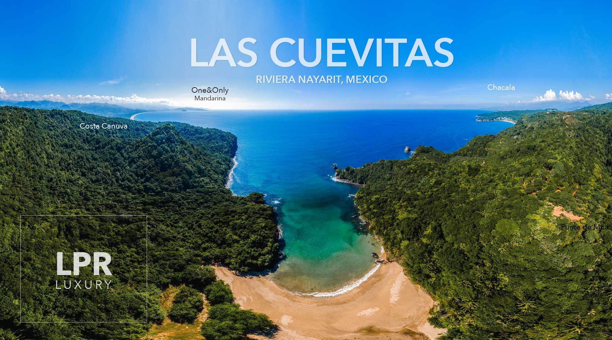 Playa Las Cuevitas - Costa Canuva - Riviera Nayarit, Mexico development land for sale - Luxury beachfront resort real estate