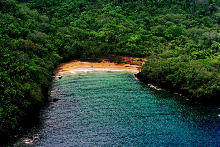 Las Cuevitas - Aerial view of the beach