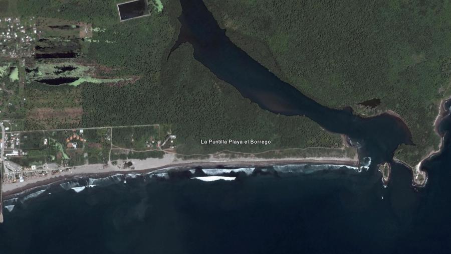 La Puntilla Playa el Borrego North Shore