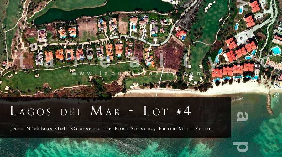 Punta Mita Real Estate - Lot #4 in Lagos Del Mar