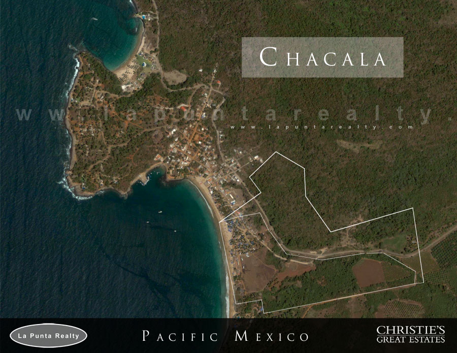 Beach front lot for sale in Chacala México