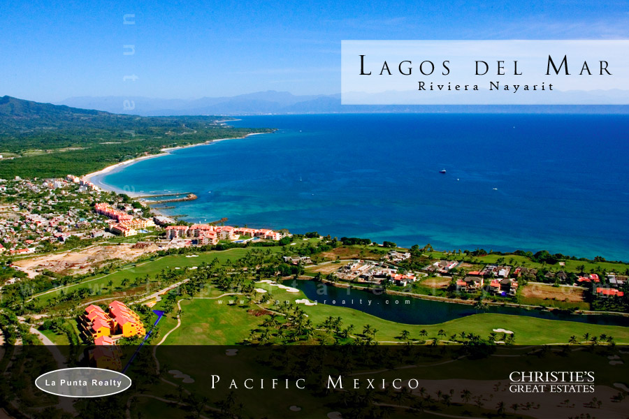 Lagos Del Mar Lot #4, At Punta Mita Resort, Land for sale.