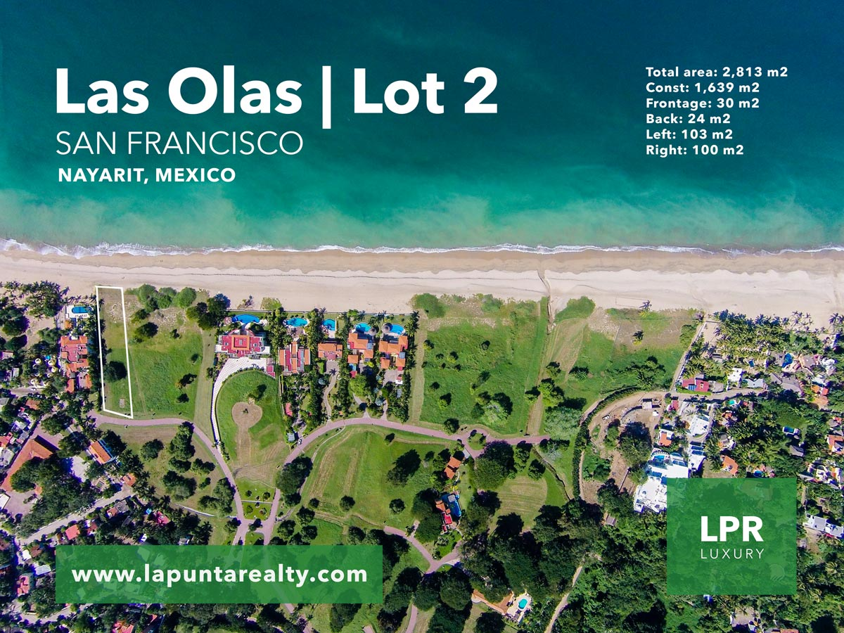 Las Olas - Lot 2 - San Pancho - San Francisco - Nayarit, Mexico