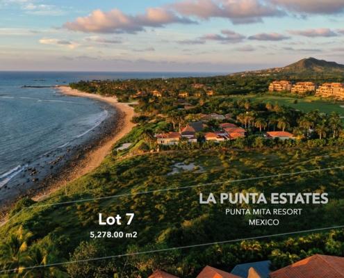 La Punta Estates 7 - Punta Mita Resort residential luxury gated community real estate fo sale - North shore Puerto Vallarta, Punta de Mita, Riviera Nayarit, Mexico