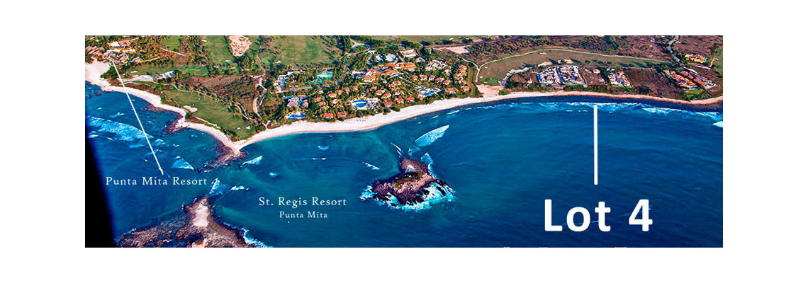 La Punta Estates - Lot 4 at the Punta Mita Resort, Riviera Nayarit, Mexico