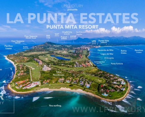 La Punta Estates - Luxury low density residential resort real estate for sale in Mexico.
