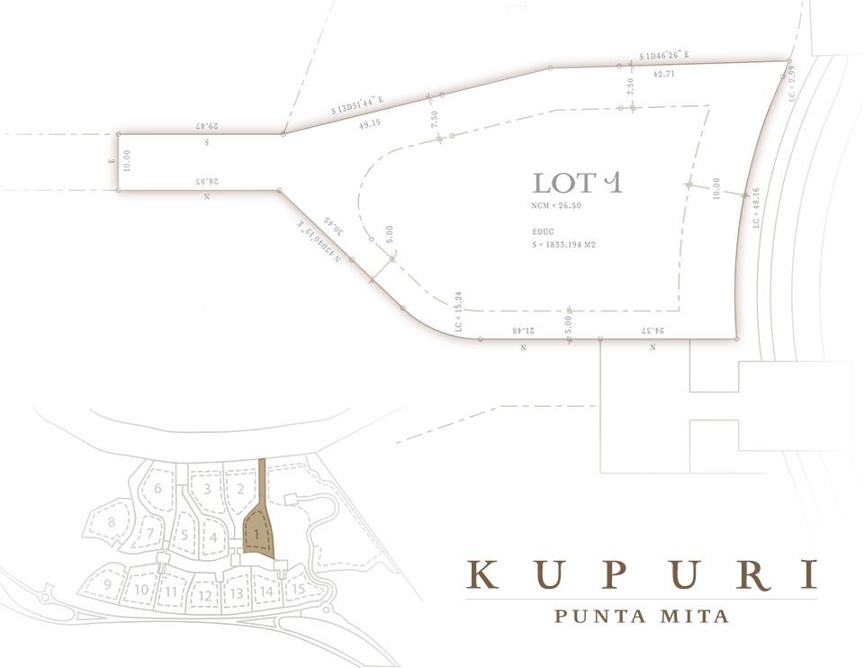 Kupuri Homesite 1 Punta Mita Resort