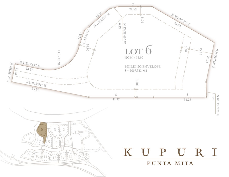 Kupuri Homesite 6 Punta Mita Resort