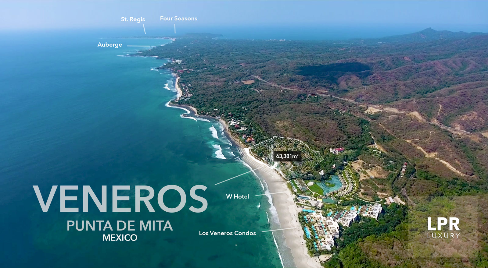 Los Veneros - La Huerta -Punta de Mita, Riviera Nayarit real estate - Mexico