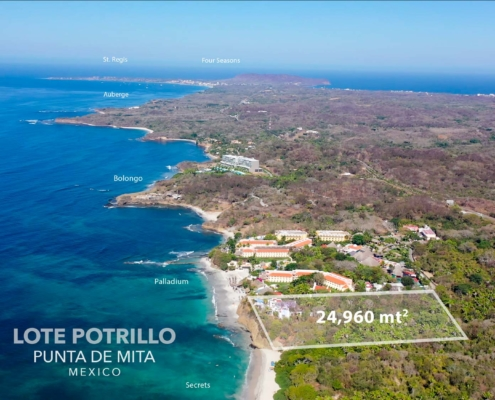 Lote Potrillo - Punta de Mita, Riviera Nayarit, Mexico land for sale