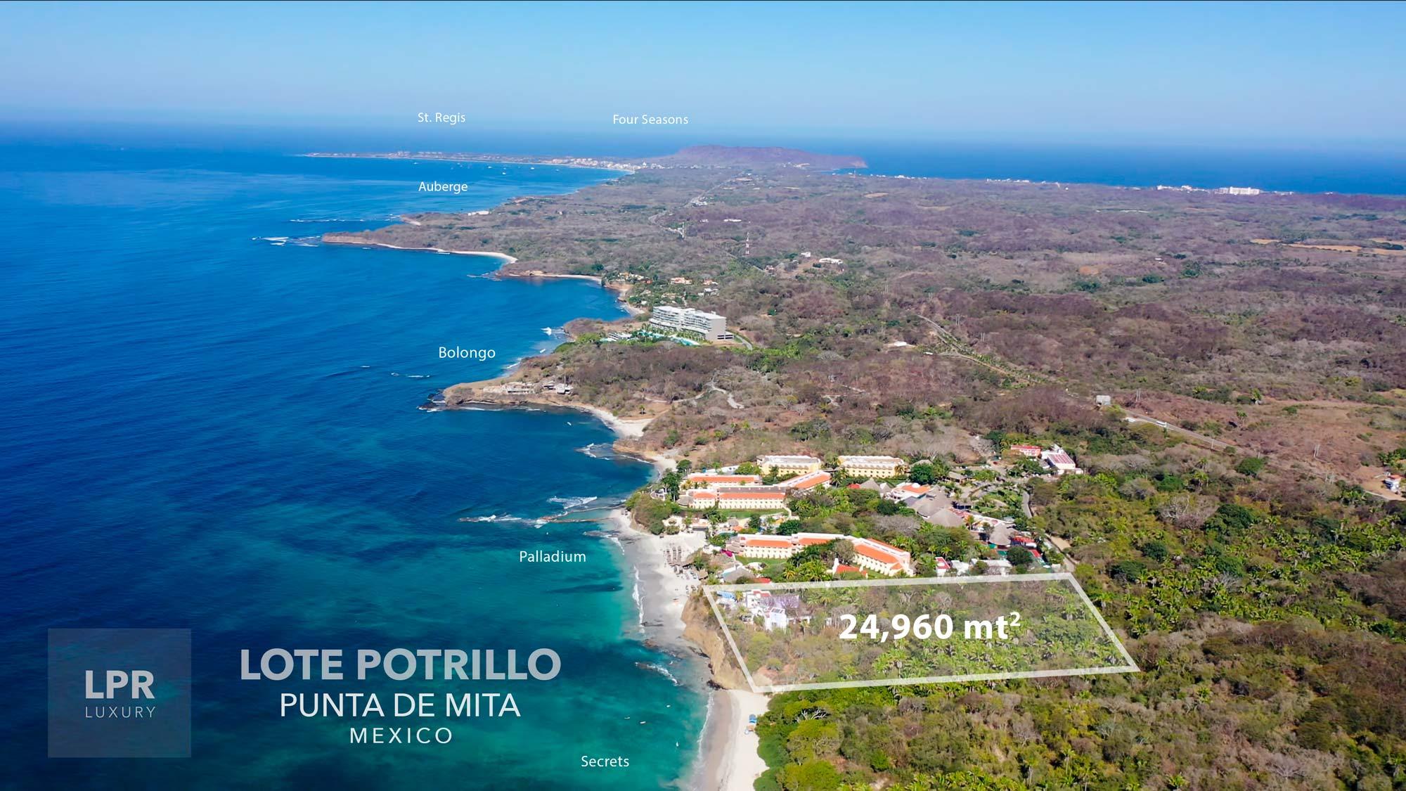 Lote Potrillo - Punta de Mita, Riviera Nayarit, Mexico land for sale
