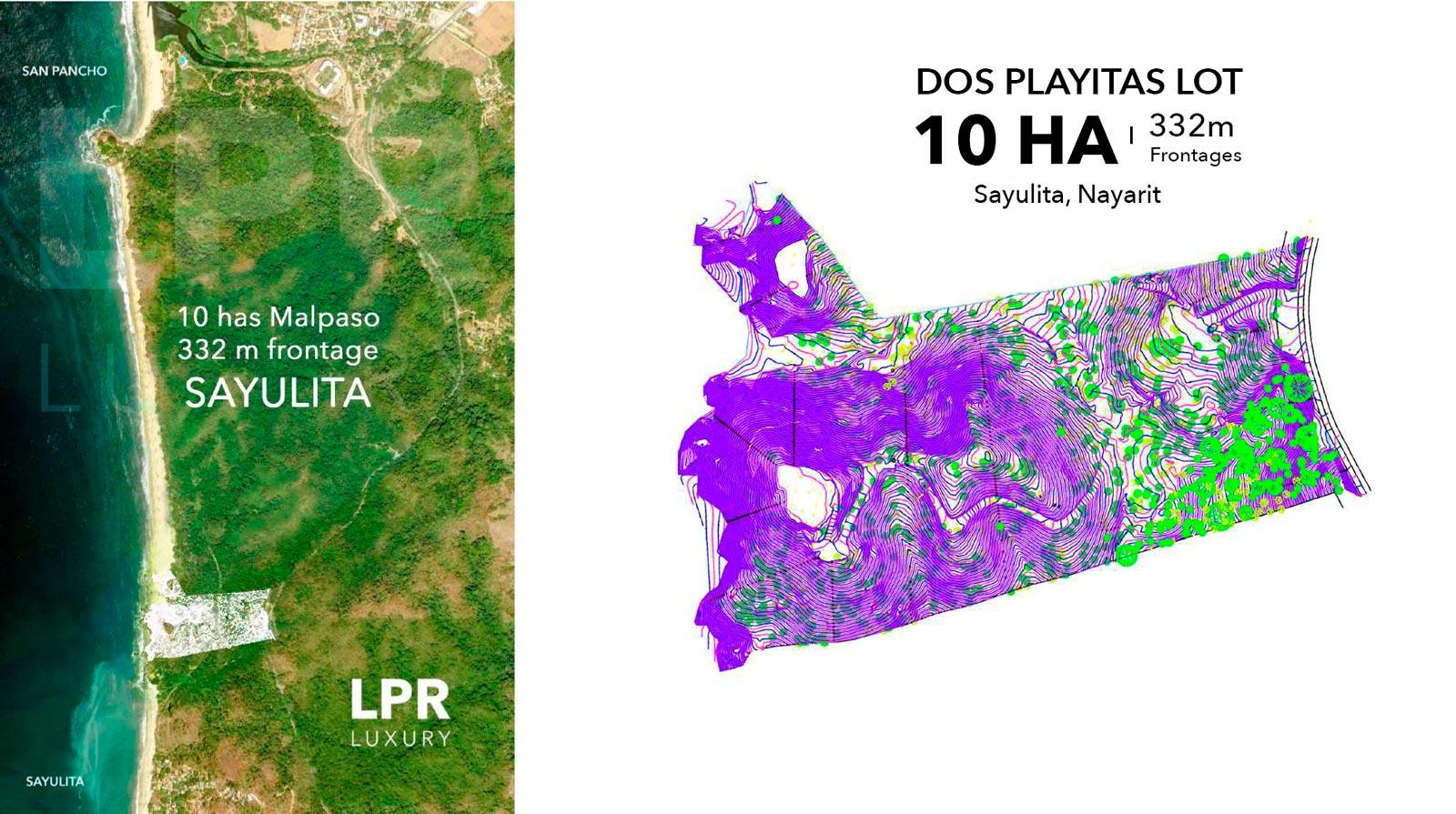 Dos Playitas - Malpaso - Sayulita Nayarit, Mexico development land for sale - Luxury beachfront resort real estate